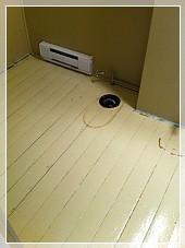 Sablage plancher avec colle ou peinture for Peinture plancher en bois